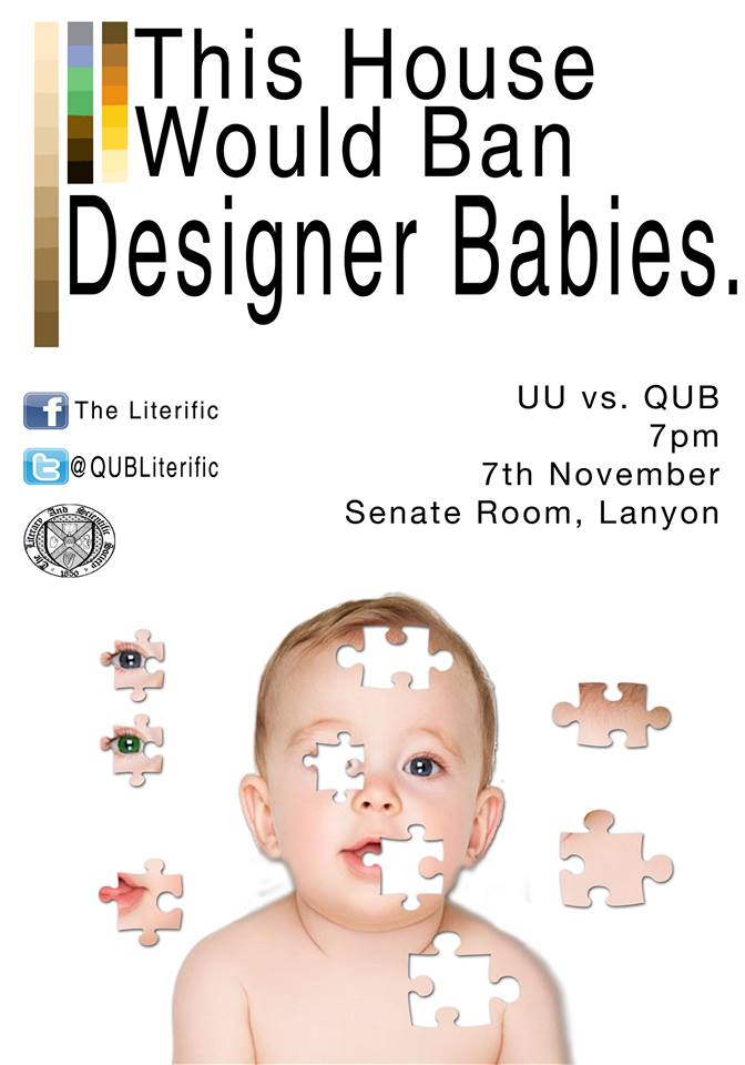 This House Would Ban Designer Babies – The Literific